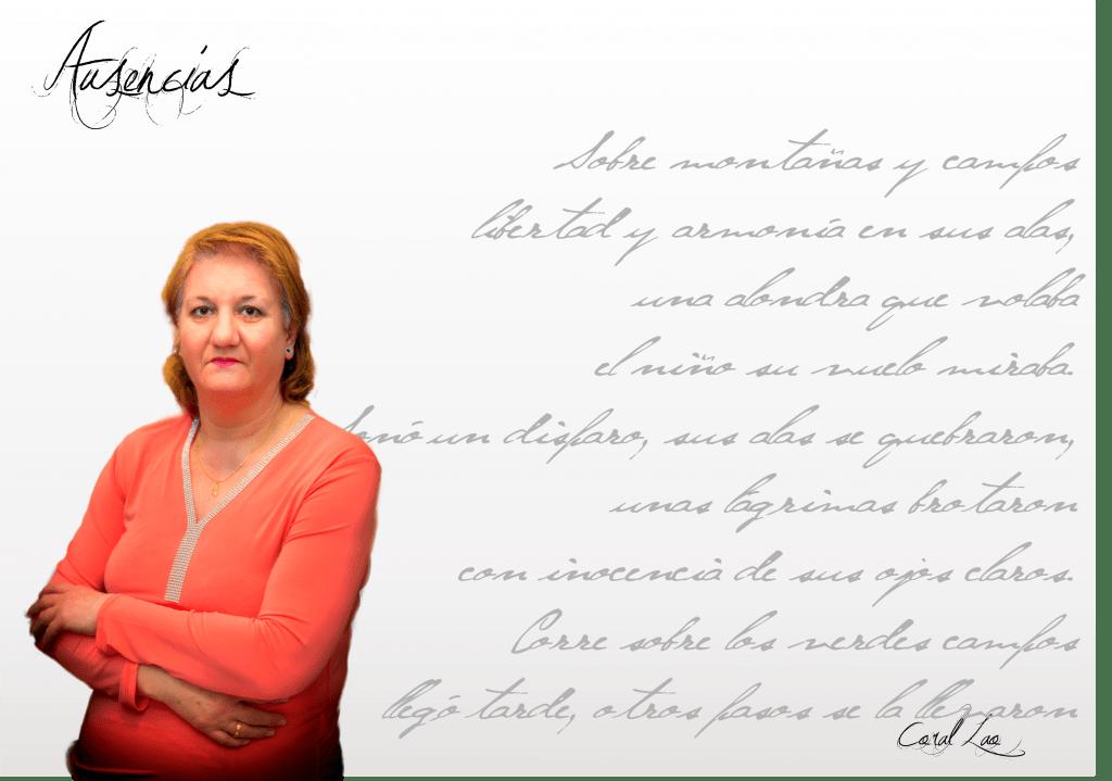 """Fichaautor  Coral Lao: """"Para mí la poesía sí que es un encuentro conmigo misma…"""" Fichaautor"""