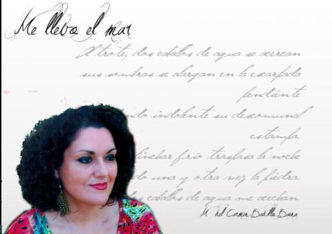 """Carmen Badillo Baena: """"Un poema puede tener música y una canción o una pieza musical puede ser pura poesía…"""""""