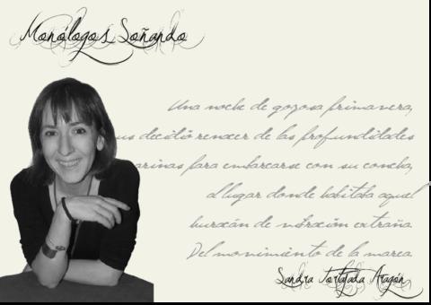 "Sandra Tortajada Aragón: ""La historia del mundo la escribimos tod@s"""