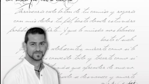"""David Gómez Cristobal : """"…Digamos que prefiero dejar que el alma se exprese. A veces con orden y lógica y otras con desenfreno y pasión""""."""