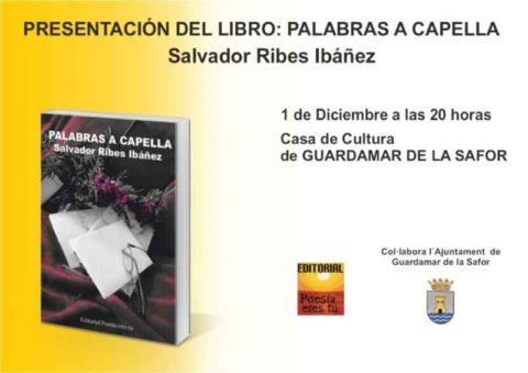 Presentación del libro: Palabras a capella en Guaredamae de la safor
