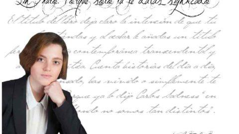 """María Villar Herbello: """"La poesía como crítica se encuentra desde mi humilde criterio personal actualmente en auge""""."""