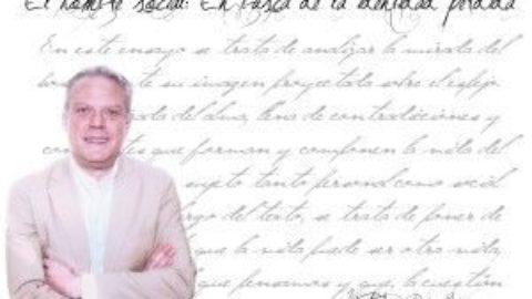 """Vicente Prada Gómez: """"Me limito a ser mero ejecutor de un mandato social. Porque la escritura es siempre social""""."""
