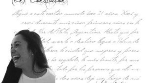"Sofía Román Barbieri:  ""Siempre soñé con publicar un libro, pero nunca escribí con esa idea"""