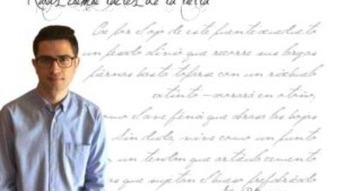 """Andrés P. Broncano: """"Un poema bien leído inspira y enseña mucho más que cien leídos con rapidez."""""""