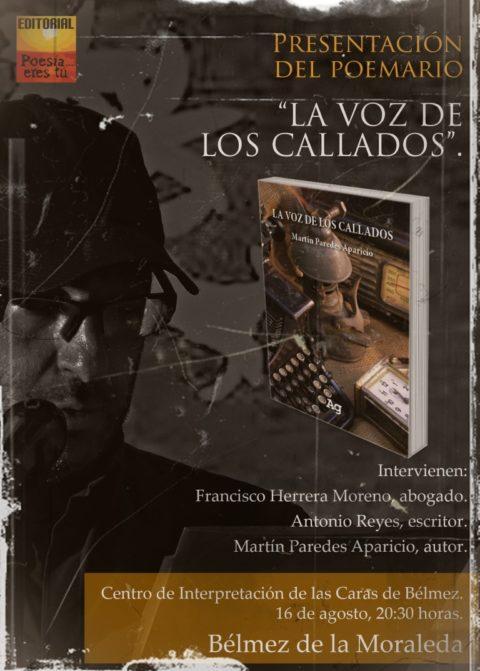 """Presentación del libro """"La voz de los callados"""" Belmez de la Moraleda"""