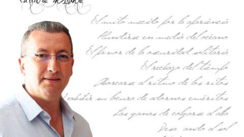 """Hamid Larbi: """"Para mí, el tiempo es la sombra invisible que nos persigue de principio a fin."""""""