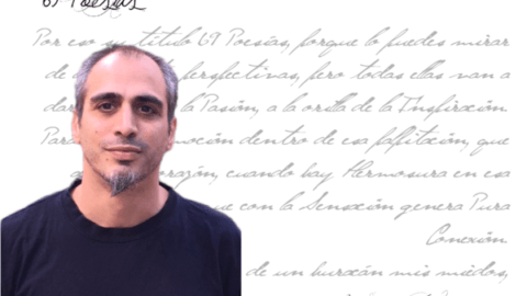 """Ricardo Diéguez Aguilar: """"El Amor a la Vida ese es el gen de la Poesía""""."""