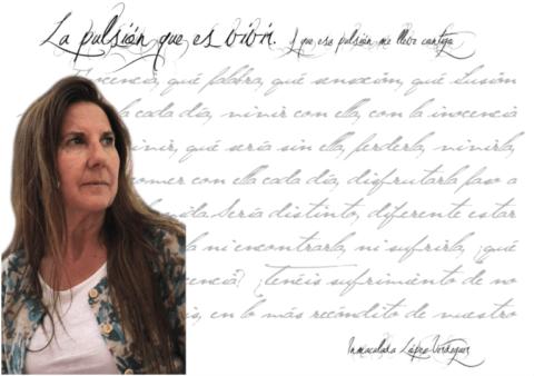 """Inmaculada López Verdeguer: """"Lo más maravilloso es poder elegir y tener ese discernimiento de lo que queremos en cada instante de nuestra vida."""""""