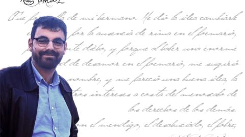 """David Martínez López de Silanes: """"Yo creo que la poesía nació para cantar las tragedias que le ocurren al hombre"""""""