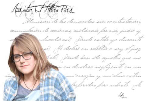 """LEB: """"La poesía permite darle voz a aquello que por el motivo que sea callaste y te arde por dentro""""."""
